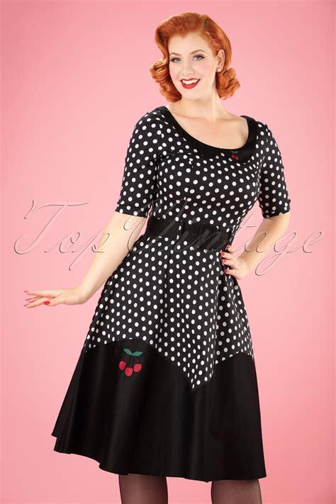 Dress Polka Dress By Hijabinc vintage polka dot dresses ditsy 50s prints