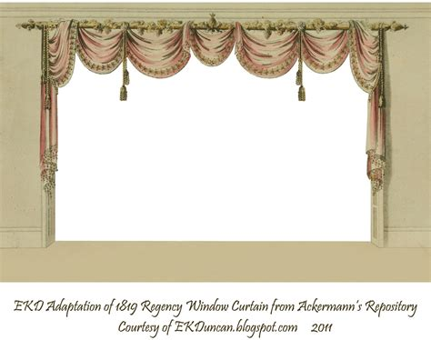 curtain frame ekduncan my fanciful muse regency ladies with a curtain