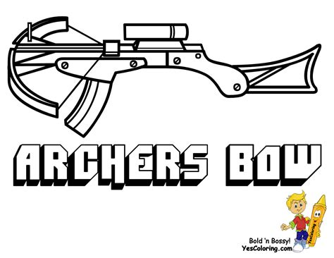 crossbow coloring page compound bow and arrow coloring pages coloring pages