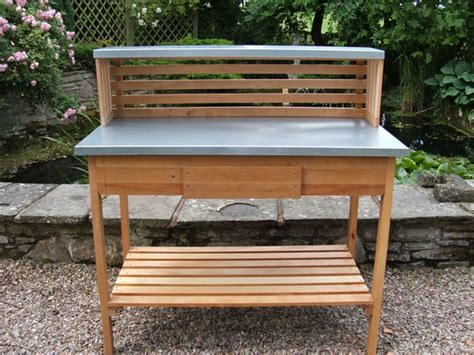potting benches uk traditional beech potting bench 163 249 99