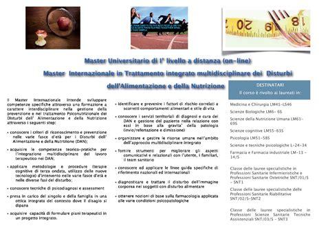 universita scienze dell alimentazione 187 master scienze della nutrizione