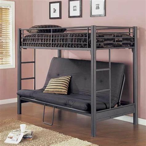 bunk beds with futon ikea futon bunk bed for more space