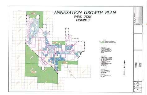 annexation of map expansion annexation plan ivins city