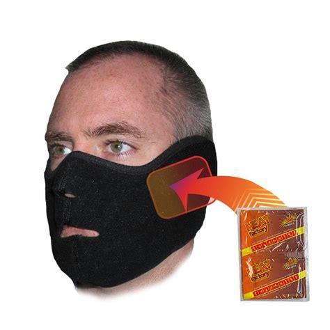 Heat Factory Face Mask Black 1780 BK   The Home Depot