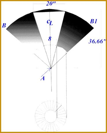 sheet metal cone template 7 sheet metal cone template fabtemplatez