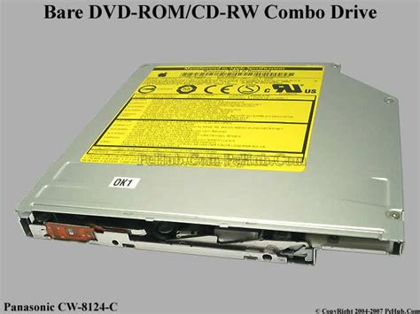 Cd Rw Dvd Rom Laptop Panasonic Cw 8124 B Panasonic Cw 8124 C Dvd Rom Cd Rw Bare Cw 8124 C