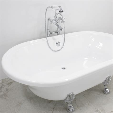 wide bathtubs francesca 73 quot coreacryl extra wide acrylic double ended