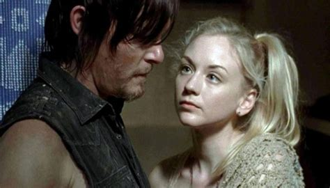 Are Walking Dead Stars Norman Reedus And Emily Kinney | walking dead stars norman reedus and emily kinney dating