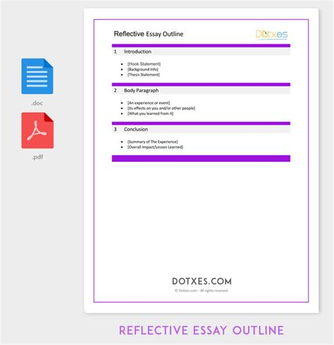 reflective essay sles free reflection paper template 28 images interpersonal