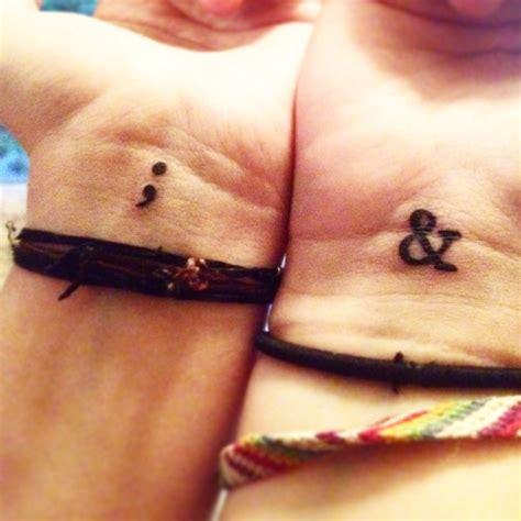 semicolon tattoo meaning self harm semicolon on