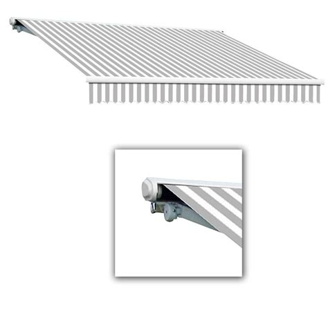 12 ft retractable awning awntech 12 ft galveston semi cassette manual retractable