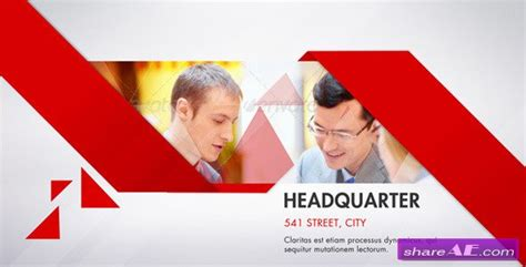 clean corporate after effects project videohive 187 free