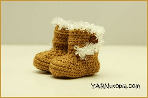 crochet pattern instructions questions crochet tutorial booties with the fur 171 yarnutopia by