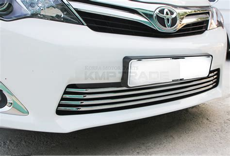 Toyota Calya Grill Radiator Front Grille Radiator Lower Trim Chrome chrome front lower radiator grille garnish molding for 2012 2014 toyota camry ebay