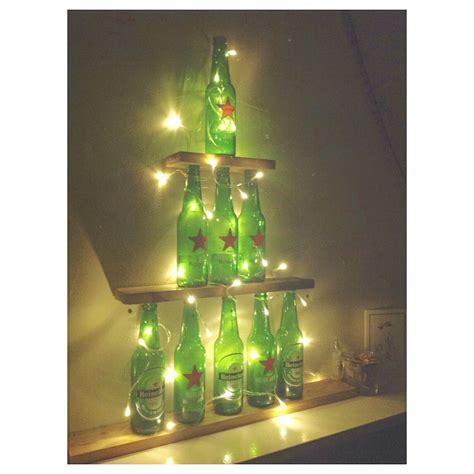 heineken christmas bottle diy heineken tree manuales heineken tree and diy ideas