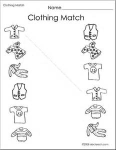 16 best images of winter matching worksheets winter