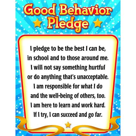 my school teamwork trouble i can read level 2 books behavior pledge chart charts learning and the back