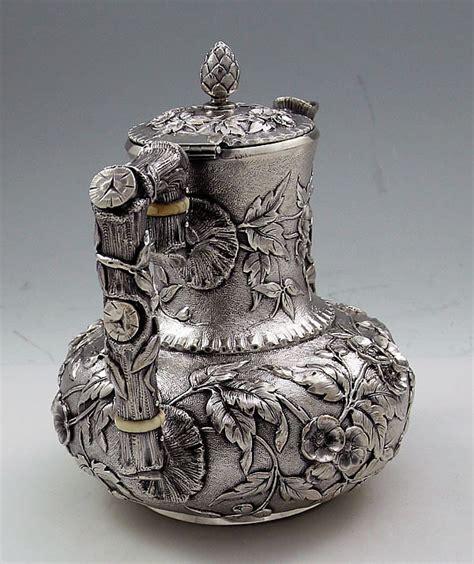 Sterling Silver Vase Antique Dominick And Haff Sterling Silver Demitasse Pot