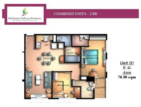 4 Bedroom Floor Plan unit layout manhattan garden city