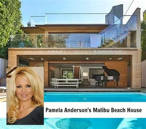 Celebrity Homes Decor pamela anderson s house in malibu hooked on houses