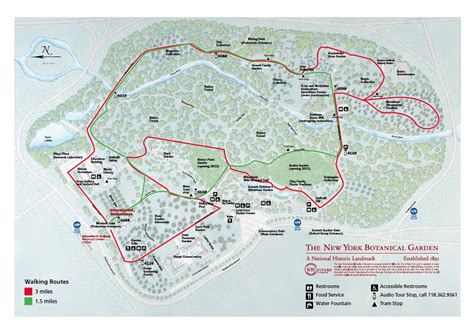 Ny Botanical Garden Directions New York Botanical Garden Map New York Map