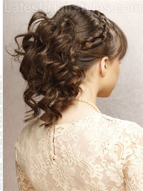 formal hairstyles updos from back prom updo hairstyles back view