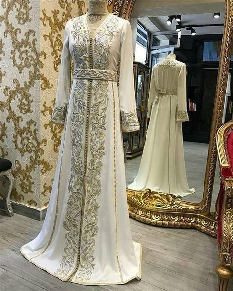 Robe Marocaine Mariage 2018 - robe de mariage marocaine 2018