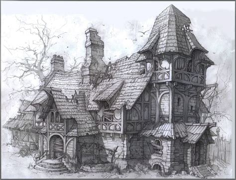 fantasy houses source http digital art gallery com fantasy