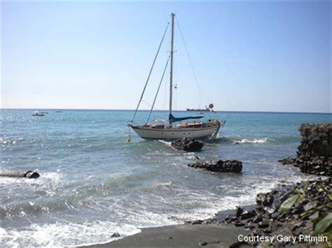 boat mooring fails kantele a saga 40 sailboat lost after a mooring failure