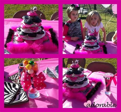 zebra themed birthday party 112 best zebra and hot pink baby shower images on