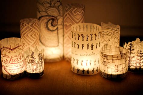 Paper Lanterns - make paper lanterns inspired by dandelions paper