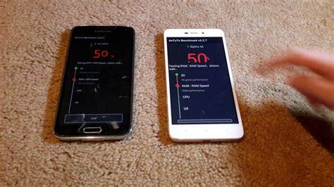 Samsung Redmi 4a samsung galaxy s5 vs xiaomi redmi 4a antutu test