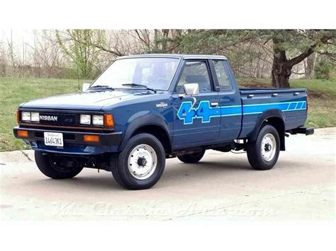 nissan datsun 1983 1983 nissan 720 king cab 4x4 for sale classiccars