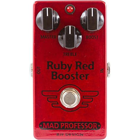 Booster X By Mad Prof mad professor ruby booster guitar effects pedal musician s friend
