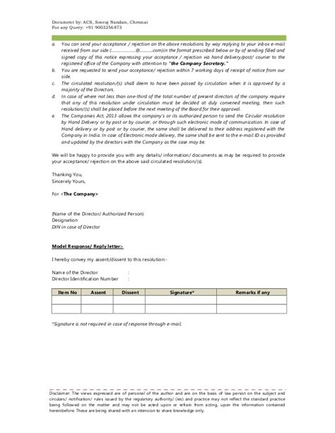 appointment letter of kmp companies act 2013 appointment letter of kmp companies act 2013 28 images