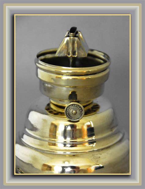 Antique Brass Hurricane Ls by Scarce Antique Brass Hurricane Or Skater S Lantern