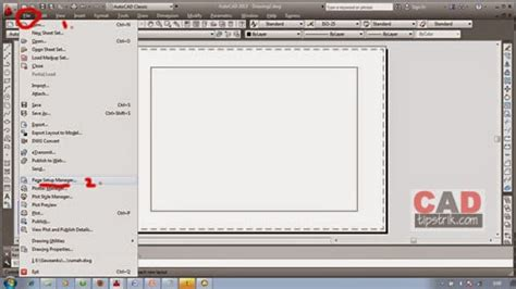 layout manager cad cara membuat kop pada layout autocad bag 1 tips triks