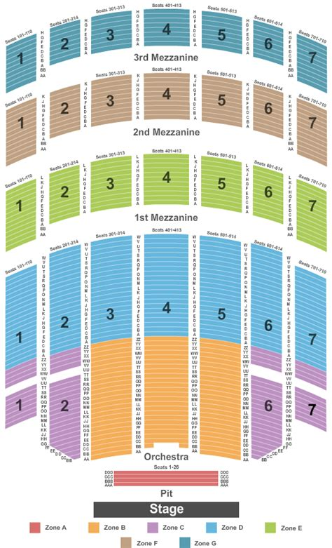 radio city seating plan radio city loving new york