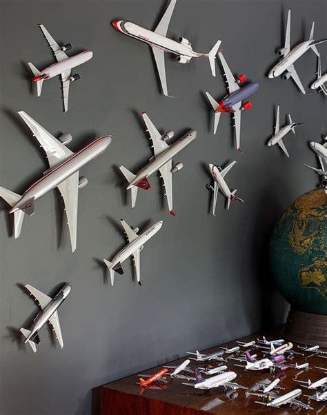 Aeroplane Decorations use accessories to create kid s room theme airplane