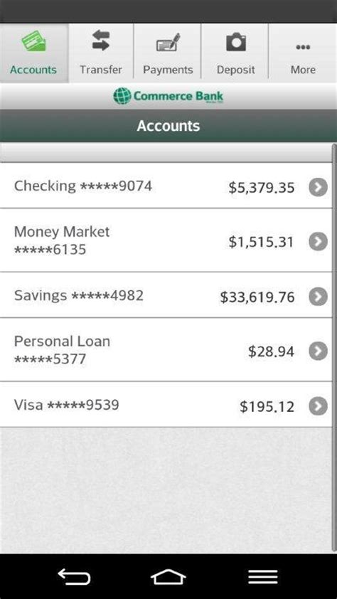 commerce bank mobile app commerce bank for android android apps on play
