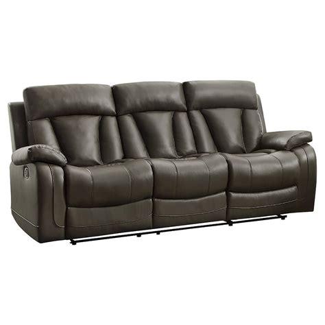 stanton recliner stanton double reclining sofa