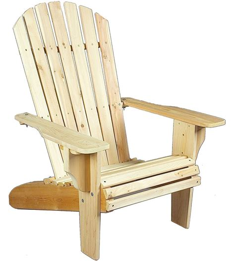 Oversize Adirondack Chair Or Ottoman Cedar In Adirondack