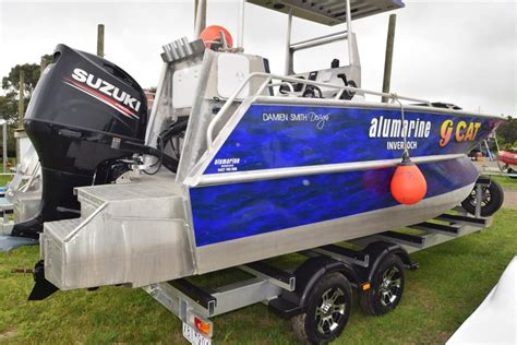 aluminum boats for sale qld aluminium power catamaran commercial vessel boats