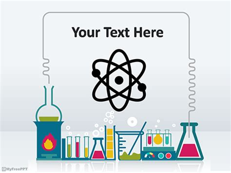science template powerpoint free chemistry powerpoint templates myfreeppt