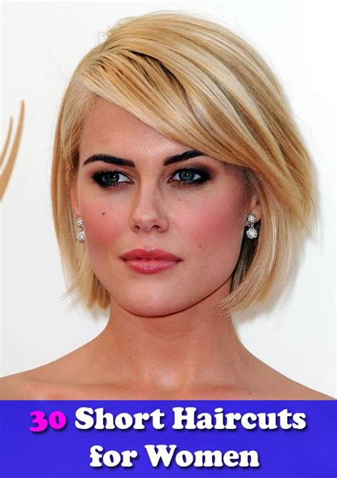 womens hair cuts for square chins chin length bob with side swept bangs 30 short haircuts