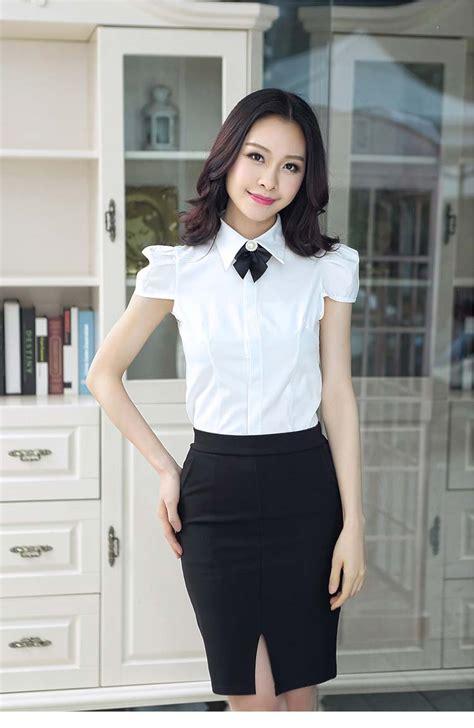 Celana Putih Japan kemeja putih model lengan pendek 2015 myrosefashion