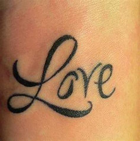 the word love tattoo designs 20 best tattoos ideas