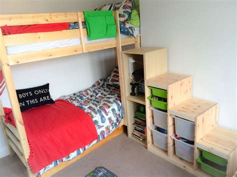 Bunk Bed Ikea by Ikea Bunk Bed Stairs Hack Ikea Trofast Steps With Ikea