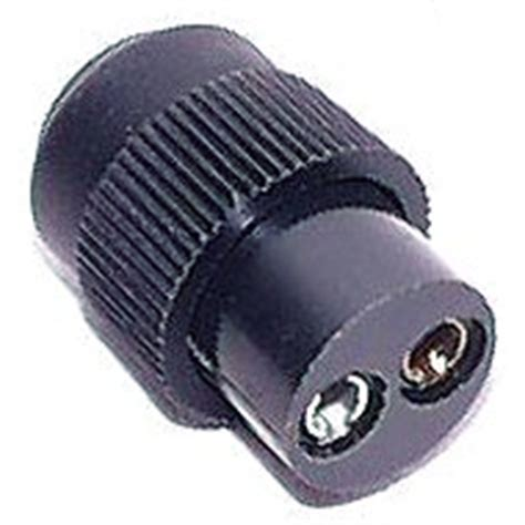moulded plastic or rubber power cord known in uk as a kettle lead powerwinch plastic winch plug with rubber boot fits t1650