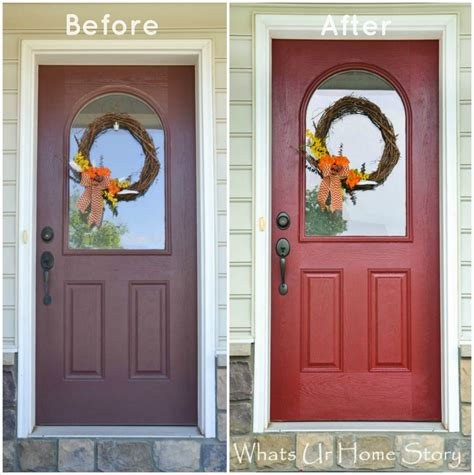 painted doors how to paint a front door